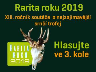 Rarita roku 2019 - hlasujte ve 3.kole